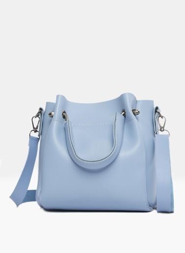 Bagmori Messenger / Askılı Çanta Mavi